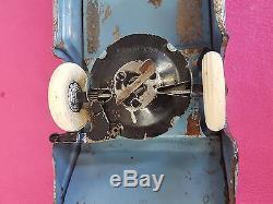 Vintage Antique Kingsbury Toys Greyhound New York Bus #228 Working Wind-up