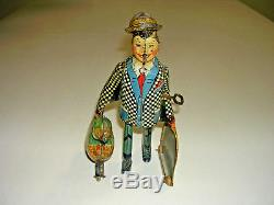 Vintage Antique Tin Wind Up Joe Penner Duck Toy by Marx