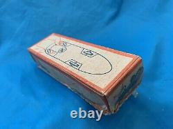 Vintage Auto Union (Audi) Toy Race Car #3 1930s Wind-Up With Box & Key TESTED