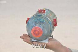 Vintage Battery Apollo 2 Fine Litho Spacecraft Tin Toy, Japan