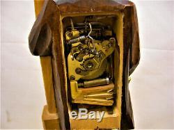 Vintage German Black Forest Karl Griesbaum Clockwork Automaton The Hobo Whistler