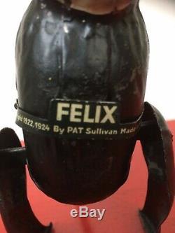 Vintage Gunthermann Felix The Cat Tin Wind Up Rare Toy Germany 1920s