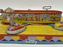 Vintage J. Chein & Co Playland Whip No. 340 Litho Tin Toy with Original Box