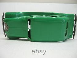 Vintage Kingsbury Windup/Battery Green Chrysler Airflow Pressed Steel Toy Car