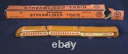 Vintage Louis Marx & Co #M10000 STREAMLINED MINIATURE Passenger & Mail TRAIN 11
