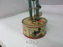 Vintage Marx 1946 Walt Disney Donald Duck & Goofy Duet, Marx Wind Up Toy G-165