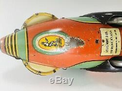 Vintage Marx Buck Rogers Rocket Police Patrol Motor works and It SPARKS