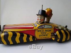 Vintage Marx Charlie McCarthy and Mortimer snerd Private Car 1939