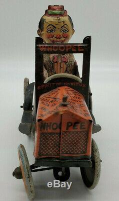 Vintage Marx Henry's Joyrider Car Tin Lithographed Windup Toy Vehicle