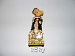 Vintage Marx Japan Tin Popeye With Parrots, Wind Up Toy. Works