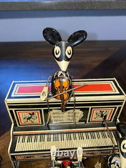Vintage Marx Merry Makers Mice Mouse Band Tin Wind Up