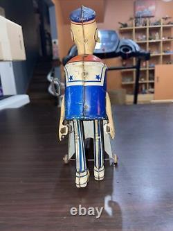 Vintage Marx Popeye Express Wind Up Tin Toy
