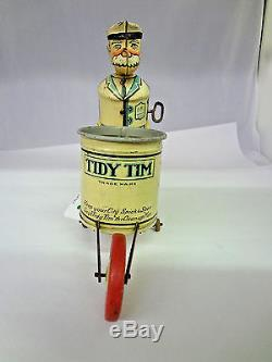 Vintage Marx Tidy Tim Wind Up Walking Toy 343-g