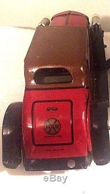 Vintage Marx Tin Litho Cadillac Coupe Toy Vehicle