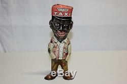 Vintage Marx Tin Wind Up Fresh Air Taxi Amos Walker Toy 1930 Works VG Must L@@K
