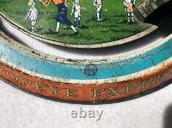 Vintage Marx Tin Wind Up Popeye Express Toy RARE