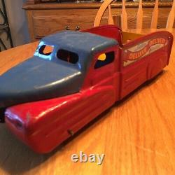 Vintage Marx Wind Up Deluxe Delivery Truck