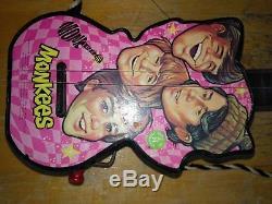 Vintage Mattel Toy Wind up Guitar Monkees Rare
