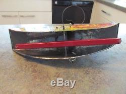 Vintage Original 1950s Hopalong Cassidy MARX Key Wind Lasso Range Rider Tin Toy