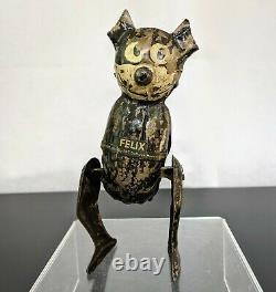 Vintage PAT Sullivan Tin Litho Wind Up Felix The Cat Toy Germany 1920's Rare