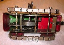 Vintage Rare Steel Structo Toys 1920s Wind Up Crawler Tractor