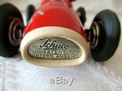 Vintage Schuco Grand Prix Racer 1070 -w Org Box Key -germany Antique Toy-6.5
