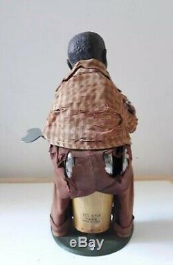 Vintage Shanghai Toys Equatorial War Drum MS 859, clockwork windup China-RARE