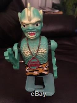 Vintage Son of Garloo. Marx Original Toy 1960s Working Order