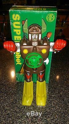 Vintage Super Robot Shogun K/O MiB 10 Wind up toy 70s 80s