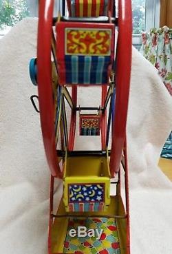 Vintage Tin Litho Chein Hercules Ferris Wheel
