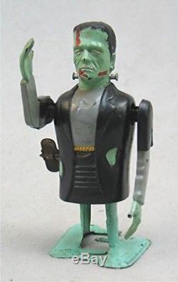 Vintage Wind Up Frankenstein Robot Monster Toy - Marx Toys Universal Pictures