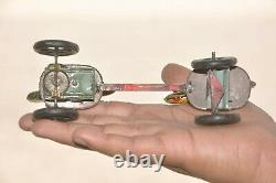Vintage Wind Up Litho Cock Fighting Tin Toy, Germany/Japan