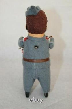 Vtg Germany SCHUCO SOLISTO 985/3 FASCIST DRUM PLAYER Wind Up Tin Litho Toy O/Box