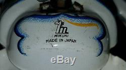 Vtg. Wind up tin toy Mikuni Made In Japan Skeleton