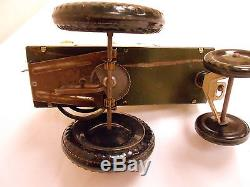Working Vintage Jumpin Jeep Marx Wind Up Toy Ww2 22c